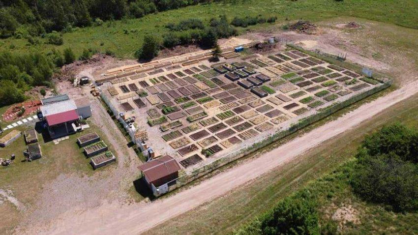 Shediac Garden Aerial